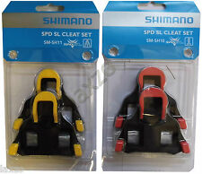 ORGINAL Shimano Road SPD-SL Cleats Bike Cycle Bicycle Pedal Cleat SM-SH11