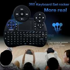 New Mini Bluetooth Wireless Keyboard Mouse Touchpad with Backlit for TV Box S2R0