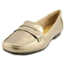 Easy Spirit Yana   Square Toe Leather  Loafer