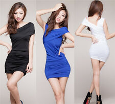 Woman Tight Body sculpting Package hip evening dress Tight pole dancing NEW