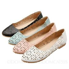 SSS Boat Shoes Womens Ladies Summer Ballerinas Plus Size ballet flats Size 2-14