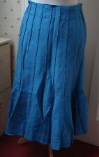 Ladies Long Blue Skirt from Marks & Spencer Size 12R