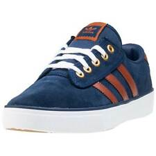 adidas Kiel Mens Trainers Navy Brown New Shoes