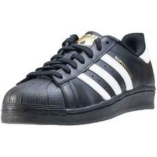 adidas Superstar Mens Trainers Black White New Shoes