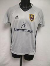 NEW MLS Real Salt Lake Adult Mens Sizes S-L Adidas Gray Climacool Jersey