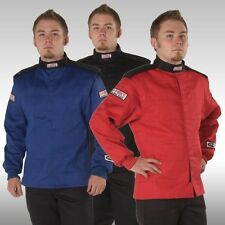 G Force Racing GF125 Single Layer Jacket  BLACK, RED or BLUE SFI 3.2A/1