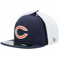 CHICAGO BEARS NFL OFFICIAL ON FIELD NEW ERA 59FIFTY FITTED DOG EAR HAT/CAP NWT