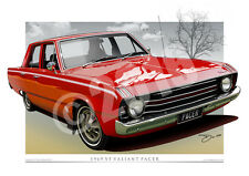 1969 Valiant VF Pacer Art Prints - Mopar Prints from Unique Autoart.