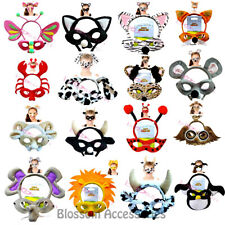 AS188 Animal Headband And Mask Costume Set Book Week Halloween Costume Accessory