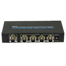 Extender SDI HD-SDI 3G-SDI 1x4 Splitter Distribution Amplifier Repeater 1080P