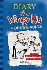 Diary of a Wimpy Kid: Rodrick Rules by Jeff Kinney (2008, Hardcover) #222