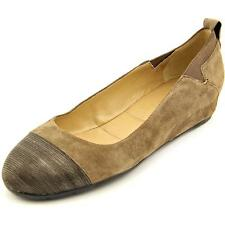 Vaneli Ardelia Women  Open Toe Suede Brown Wedge Heel
