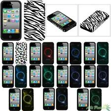 Fusion Hybrid Phone Case Cover For APPLE iPhone 4/4S Silicone/Hard Protector