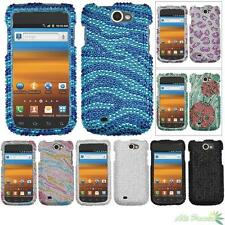 Protector Case Cover For SAMSUNG T679(Exhibit II 4G) Bling Rhinestones