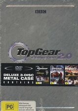 Top Gear Collection 2 3-disc DVD Region 4 Challenges Polar Special US Special