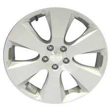 68787 Factory, OEM Used wheel 17 X 7;  Sparkle Silver with a Machined Face