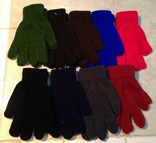 Super Stretch Acrylic Sweater Knit Gloves/Hand Warmers *9 Colors