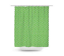 Mickey Polka Dots Green Shower Curtain - Unique in 4 sizes for any Bathroom