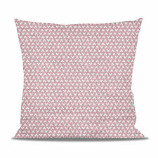 Mouse Ears Polka Dots Pink Fleece Cushion - Heart, Round or Square Shaped Pillow