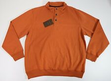 Mens Sweater Weatherproof Vintage Button Henley Long Sleeves $68