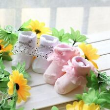 New In ! Baby Kids Bowknot Lace Socks Cotton Warm Infant Toddlers Foot Protect