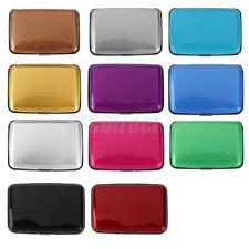 1pc Aluminum Metal Credit Card Wallet Business ID Holder Purse Case Pocket Box