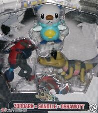 Pokemon Black & White 3 Pack of Action Figures with Zoroark by Jakks Pacific USA