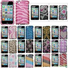 Protector Case Cover Bling Rhinestones Diamond For APPLE iPod Touch 4