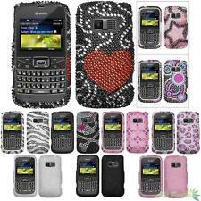 Diamond Hard Phone Case Cover Bling Rhinestones For KYOCERA S3015(Brio)