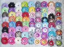 Wholesale Daisy Flower Children Hair Clip Crochet Baby Girl Headbands For Women