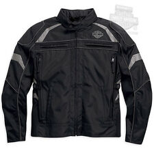 Harley-Davidson Mens Medallion Waterproof Reflective Riding Jacket 98082-15VM
