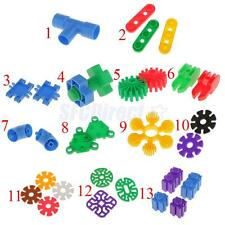 Multicolored Building Blocks Puzzle Bricks Kids Toddler Funny Game Play Toy Gift