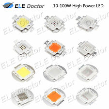 10W 20W 30W 50W 100W White Royal Blue RGB IR 850 940nm High Power LED Chip Light