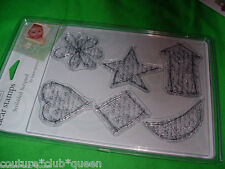 AUTUMN LEAVES NIP CLEAR SCRAPBOOKING Cling STAMPS Choose Theme
