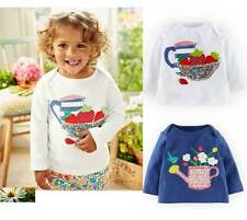 Baby Mini Boden cotton applique tee top patchwork  new 0 months -3 years girls