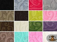 "Embossed Vine Cuddle Fabrics / 58"" Wide / Sold by the yard"