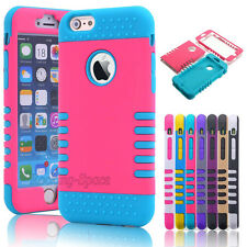 """Shock Absorbing Hybrid Rugged Rubber Slim Hard Case Cover for 4.7"""" iPhone 6S / 6"""