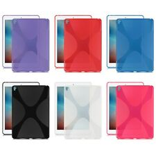 "Gel Rubber TPU Silicone Case X-line Cover Back Skin for Apple iPad Pro 9.7"" 2016"