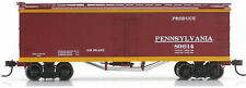 Athearn/Roundhouse HO Scale 36ft. Old Time Wood Reefer Pennsylvania/PRR #89614