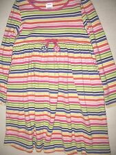 GYMBOREE GIRLS MULTI-COLOR STRIPED DRESS SIZE 7 EUC