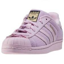 adidas Superstar J Kids Trainers Pink New Shoes