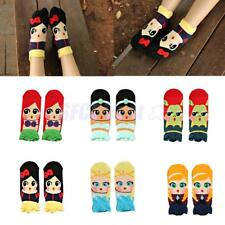 Casual Womens Trendy Cute Cartoon Girls Cotton Ankle Socks Low Cut Socks Hosiery