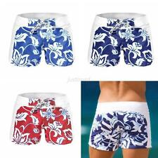 Fashion Men's Swimwear Boxers Swimming Trunks Swim Shorts Beach Pants Shorts