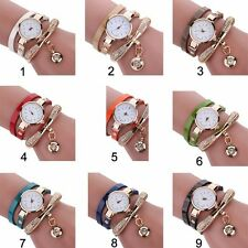 Fashion Rhinestone watches for women Crystal Quartz Bracelet Bangle Wrist Watch