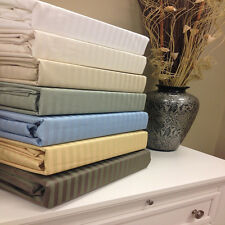 Stripe 650 Thread Count Wrinkle Free Egyptian Cotton Sheets