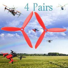 8pcs 5045/6045 Plastic Prop 3-Blade Propeller for Mini RC Helicopter Aircraft SP