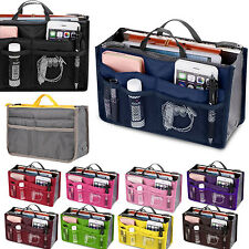 Lady Travel Carry Handbag Organiser Purse Large Liner Tidy Cosmetic Makeup Bag