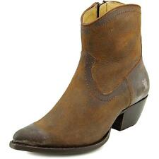 Frye Sacha Short Boot   Round Toe Leather  Ankle Boot
