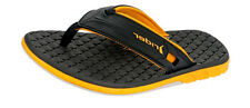 Rider Next Mens Flip Flops / Sandals - Black Yellow - 81548