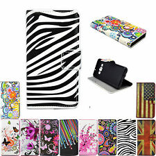 Leather Holster Card Hold Wallet Cover Case For Sony Xperia Z3 Z4 Z5 Compact C4
